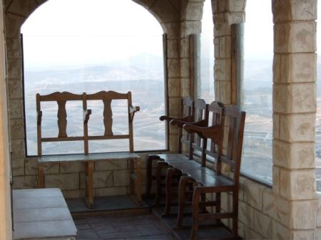 Seating within the outer perimeter of the church